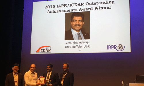 IAPR/ICDAR Outstanding Achievements Award Winner